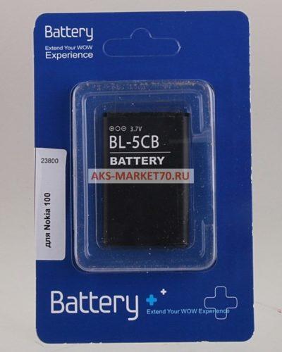 Аккумулятор для телефона Econom для Nokia 100 BL-5CB