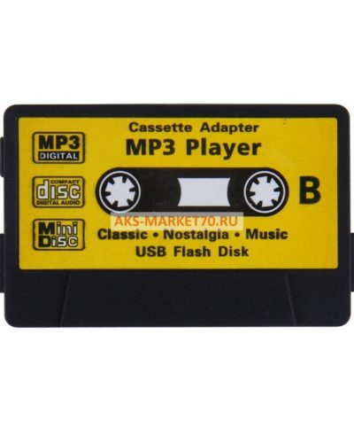 Портативный Mp3 плеер - Cassette (black)