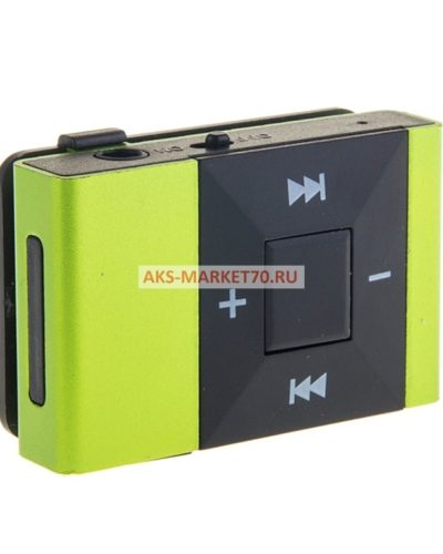 Портативный Mp3 плеер Glossar M03 (green)