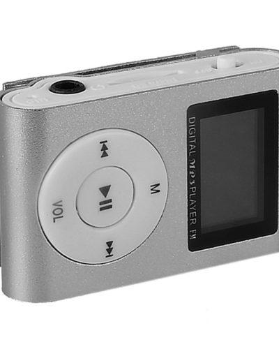 Портативный Mp3 плеер - Shuffle с дисплеем (silver)