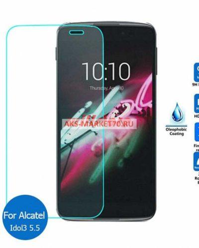 Противоударное стекло для Alcatel OneTouch Idol 3 6045Y