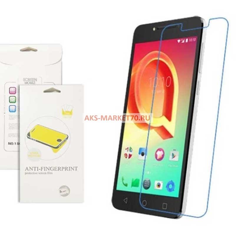 Фирменное защитное закалённое противоударное стекло для телефона Alcatel A5 Led 5058D