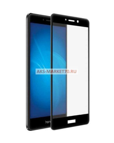 Защитное стекло с полным покрытием для Huawei Honor 6X цвет рамки черный