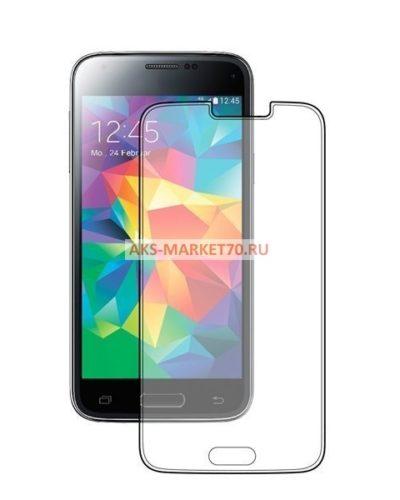 Защитное стекло прозрачное - для Samsung Galaxy S5 (тех.уп.) SM-G900