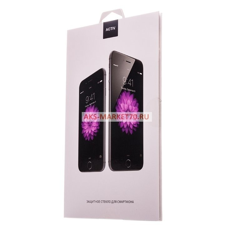 Защитное стекло прозрачное Activ для Huawei Honor 8