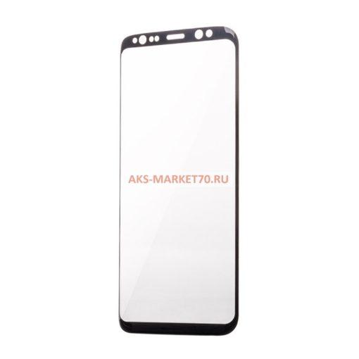 Защитное стекло прозрачное для Samsung S8 Black