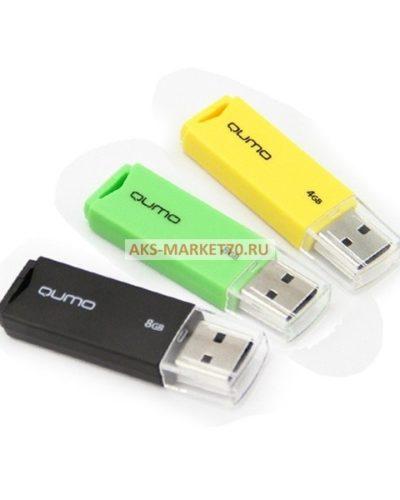 Флэш накопитель USB  8 Гб Qumo Tropic (black)