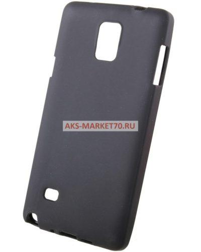 Чехол-накладка для Samsung Galaxy Note 4 (black) SM-N910