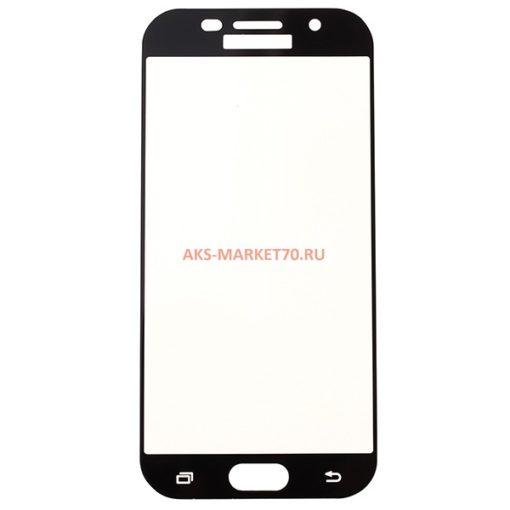 Защитное стекло прозрачное для Samsung A5 2017 Black