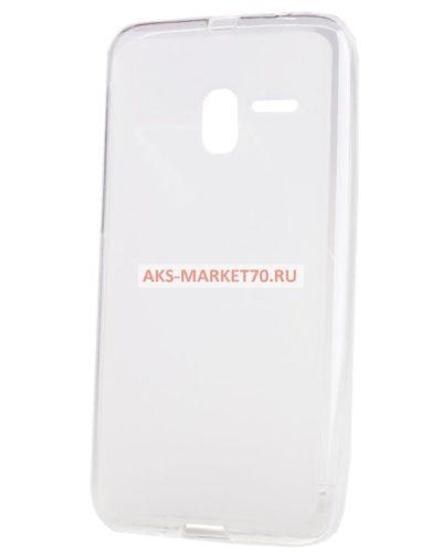 Чехол-накладка для Alcatel Pixi 3 (5.0) (white) OT5015