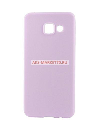 Чехол-накладка для Samsung Galaxy A3 (2016) (violet) SM-A310