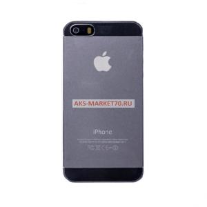 Чехол-накладка EcoLine для Apple iPhone 5 (прозрачный)