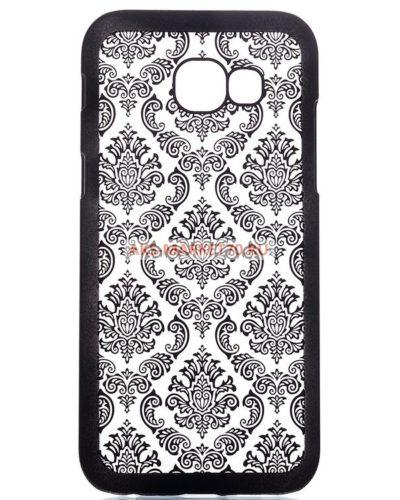 Чехол-накладка Activ Decor-01 для Samsung Galaxy A5 2017 (black)
