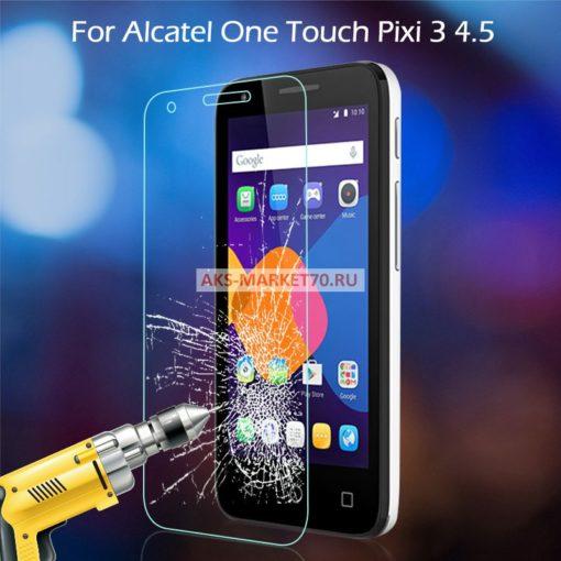 Cтекло защитное для Alcatel Pixi 3 4027D 4.5