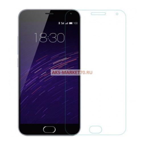 Защитное стекло прозрачное для Meizu M3 Note (тех.уп.)