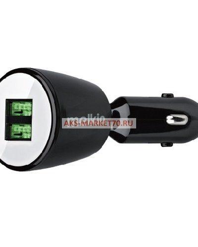 Автомобильный адаптер Melkin M8501 2USB/5V/2.1A (black)