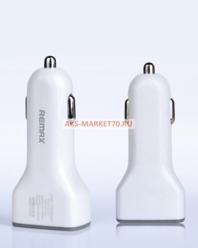 Автомобильный адаптер Remax АЗУ-3USB (3600 mA) (white)