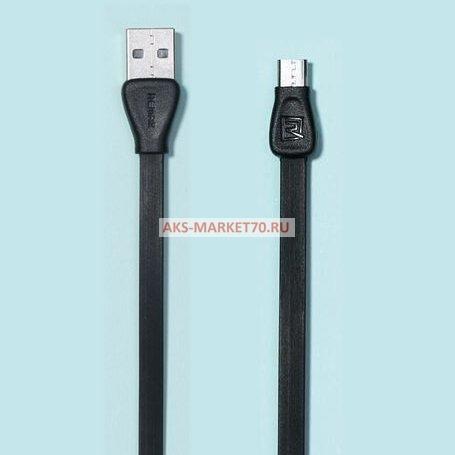 Кабель USB micro USB Remax Martin для HTC/Samsung (100 см) (black)