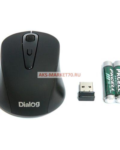 Мышь оптическая беспроводная Dialog Pointer MROP-05UB (black)