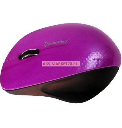 Мышь оптическая беспроводная Smart Buy SBM-309AG-P (Purple)