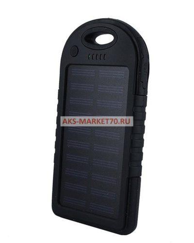 Портативная зарядка Solar charger ES-500 5000 mAh (black)