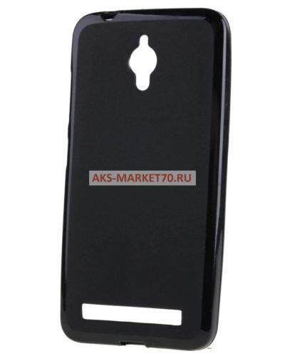 Чехол-накладка для Asus ZenFone Go 5.0 (black) ZC500TG