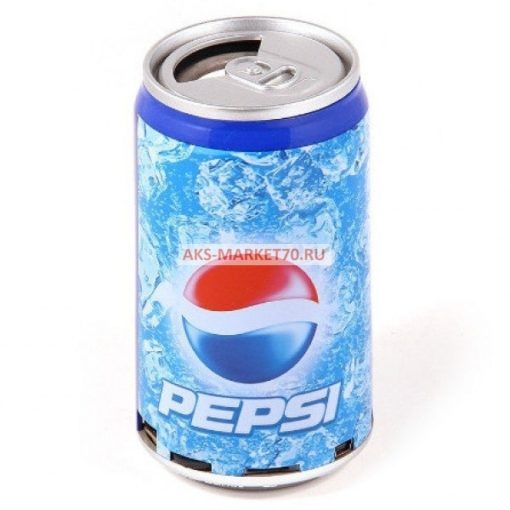 Портативная акустика - банка Pepsi