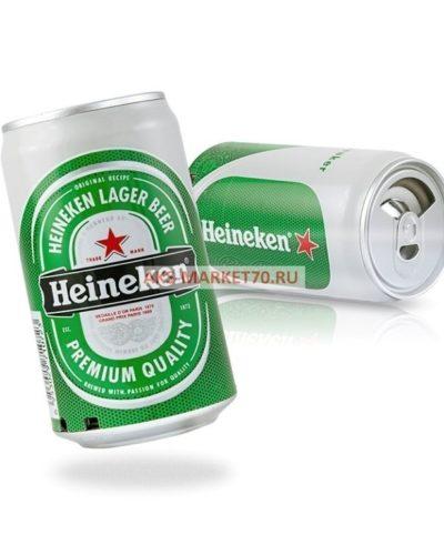 Портативная акустика - банка Heineken