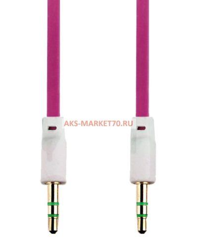 Аудио-удлинитель (папа-папа) - AU102 3,5 -3,5 (100 см) (rose)