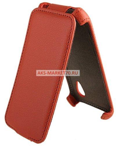 Чехол-книжка Activ Leather для HTC Desire VT (orange) открытие вниз