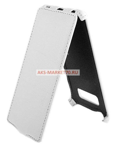Чехол-книжка Activ Leather для HTC Desire 600 (white) открытие вниз