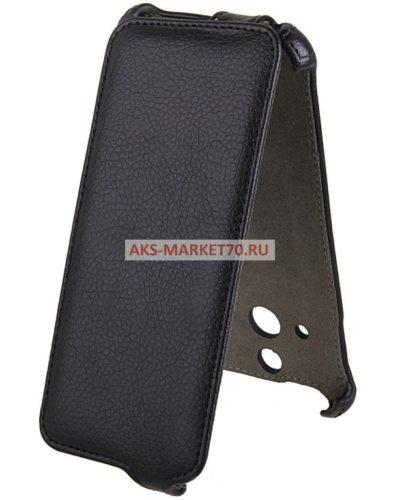 Чехол-книжка Activ Leather для HTC One E8 (black) открытие вниз