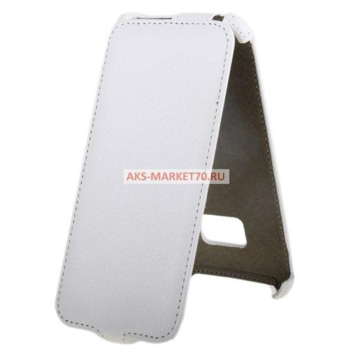 Чехол-книжка Activ Leather для HTC One M9 (white) открытие вниз