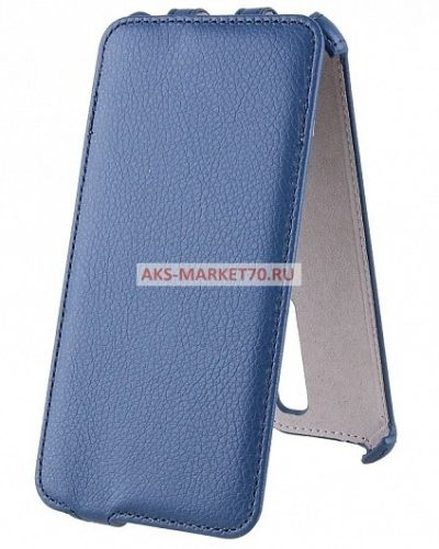 Чехол-книжка Activ Leather для Asus ZenFone 2 Deluxe (blue)