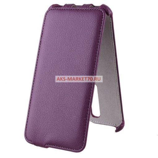 Чехол-книжка Activ Leather для Asus ZenFone 2 Deluxe (violet)
