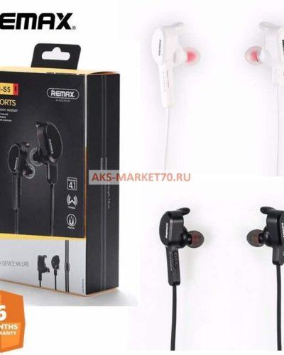 Беспроводные cтерео-наушники Remax Sports Bluetooth Headset (RM-S5) black