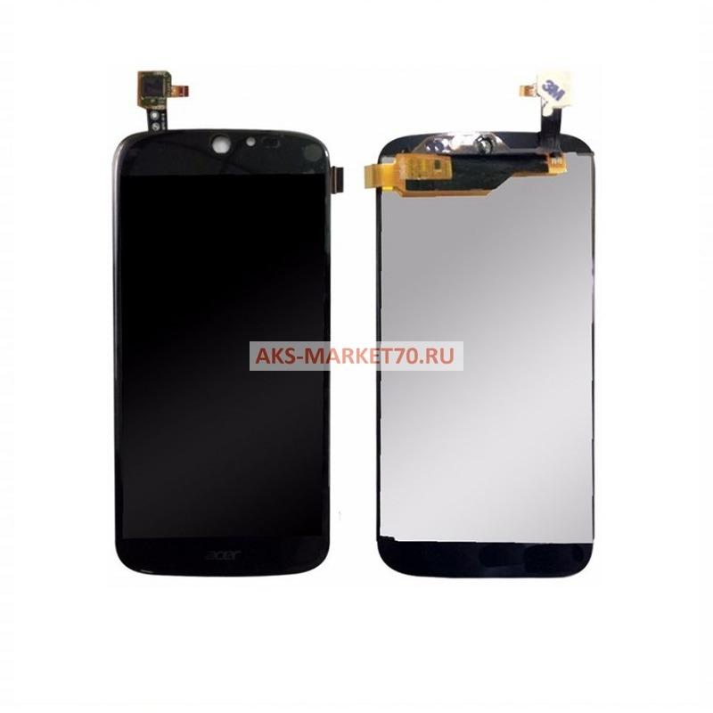 Дисплей Acer S55 (Jade) в сборе с тачскрином (черный)