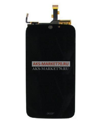 Дисплей Acer S56 (Jade S) в сборе с тачскрином (черный)