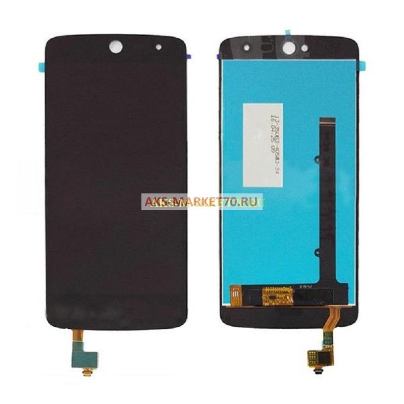 Дисплей Acer Z525 Z528 (Zest Zest 4G) в сборе с тачскрином (черный)