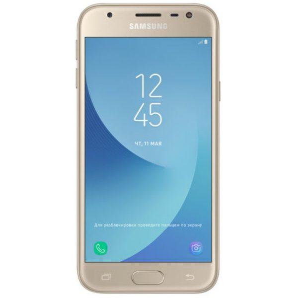 Смартфон Samsung J330 Galaxy J3 2017 4G gold/золотой