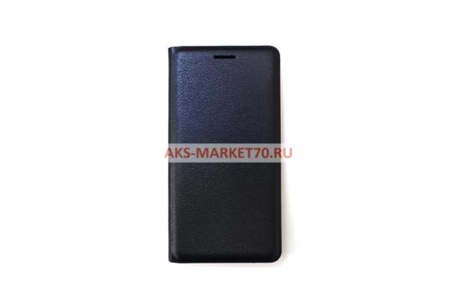 Чехол-книжка Aksberry Air Case для Samsung SM-J330 Galaxy J3 2017 (черный)