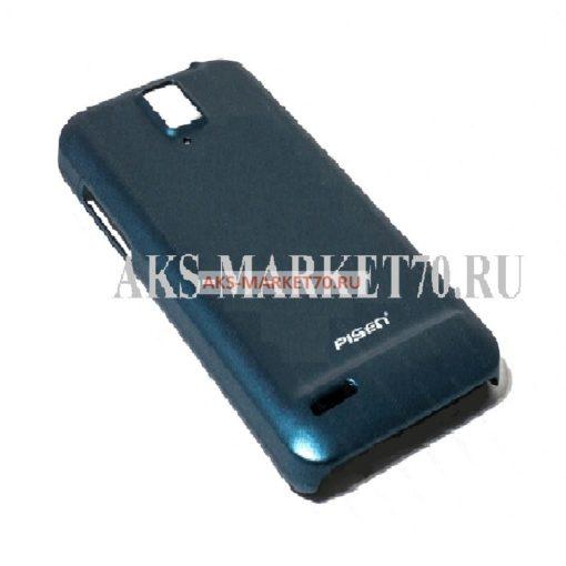Кейс ультратонкий Pisen Huawei U9500 матовый (синий)