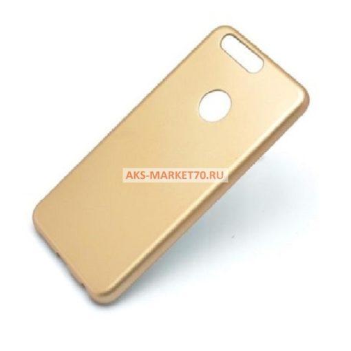 Чехол-накладка для Huawei Honor 8 (золото)