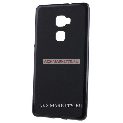 Чехол силиконовый матовый Activ для Huawei Ascend Mate S (black)