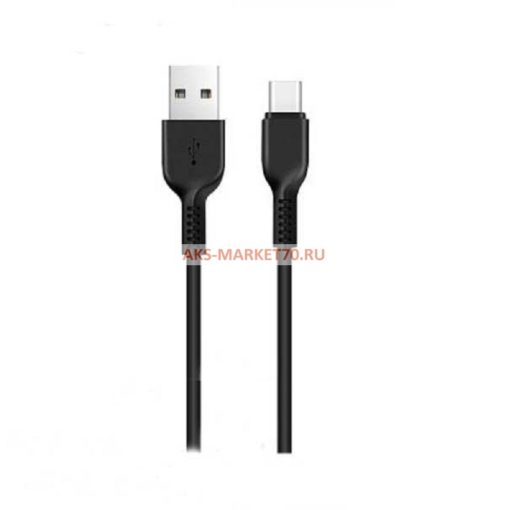 Дата-кабель USB HOCO для TYPE-C X13 series Black