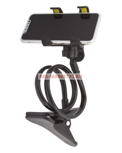 Держатель Remax RM-C22 Lazy Stand undetachable Black