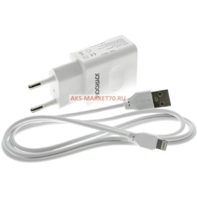 СЗУ JOYROOM DUAL USB L-L221 series 2A White