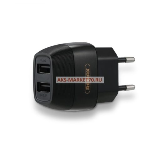 Сетевое ЗУ Remax 2USB Flinc RP-U29 2.1A Black
