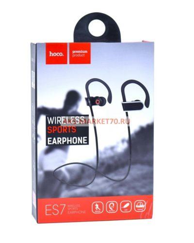 Bluetooth-гарнитура спортивная HOCO ES7 Stroke embracing series Black