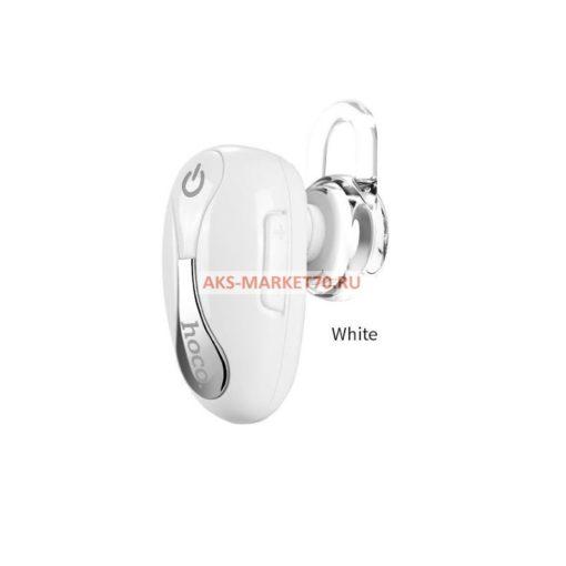 Bluetooth гарнитура HOCO E12 Beetle mini series White